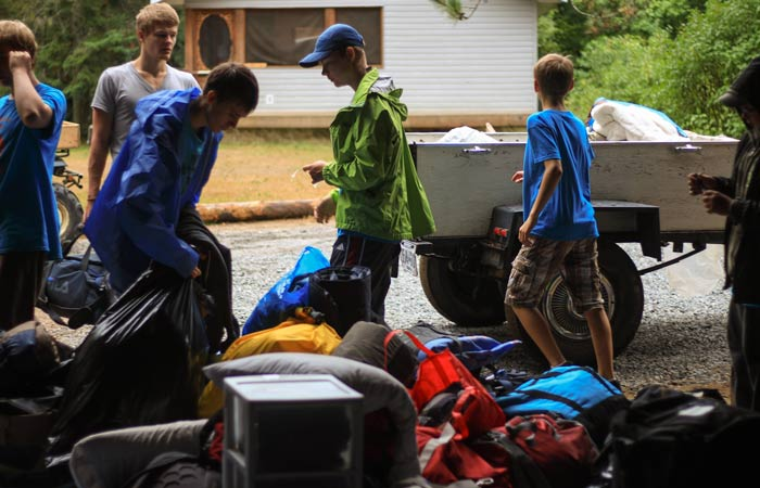 Camping Equipment and Supplies - Donation of $100